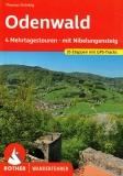 Odenwald - 4 Mehrtagestouren mit Nibelungensteig - Rother Wanderführer