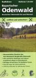 Radkarte Bayerischer Odenwald, 1:30.000 (April 2021)