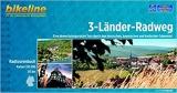 Bikeline 3-Länder Radweg (Odenwald): Eine abwechslungsreiche Tour durch den hessischen, bayerischen und badischen Odenwald 212 km.